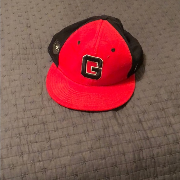 Men s UGA Nike Flat Bill Hat 60654ee875a
